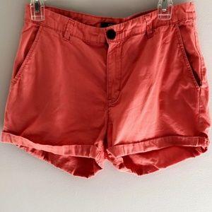 Coral/Salmon Shorts